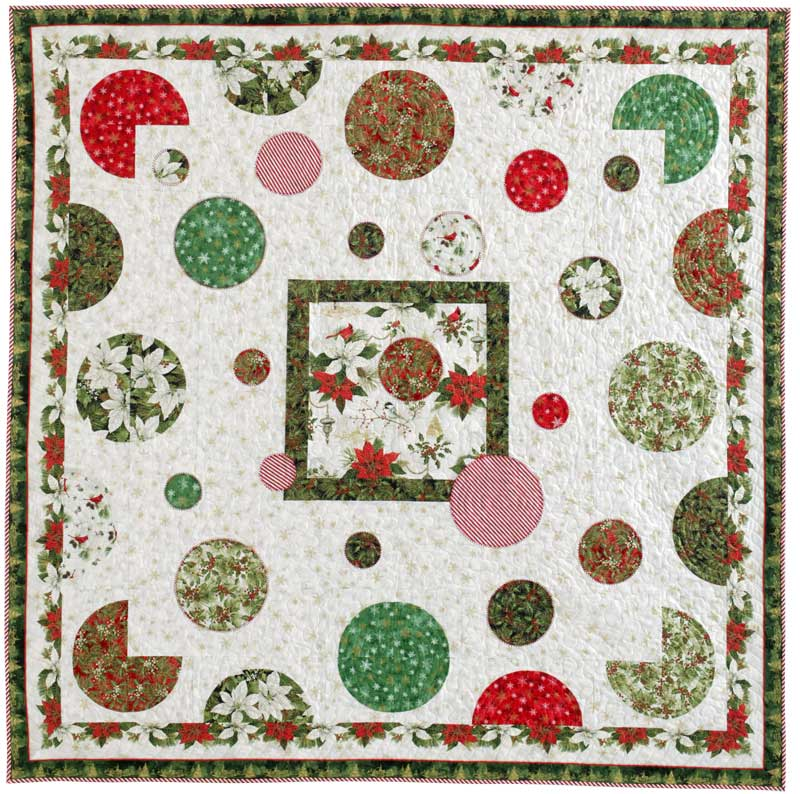 "Image of quilt pattern ""Baubles"""