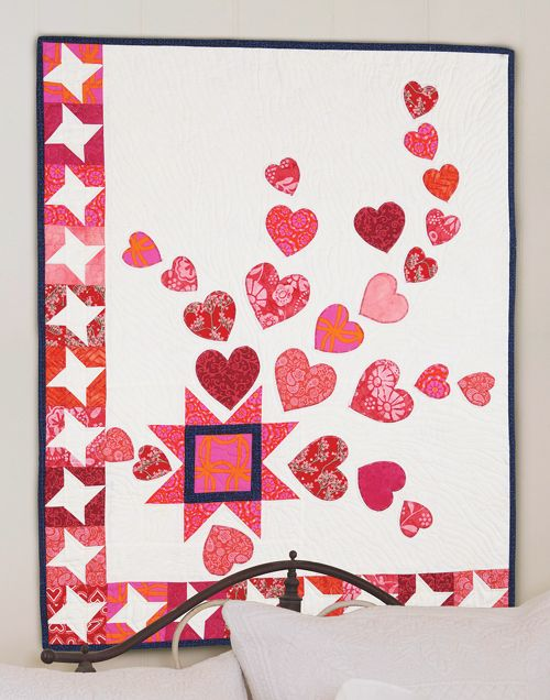 "Image of quilt pattern ""Love is in the Air"""