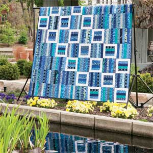 "Photo of quilt design ""Reflecting Pools"""