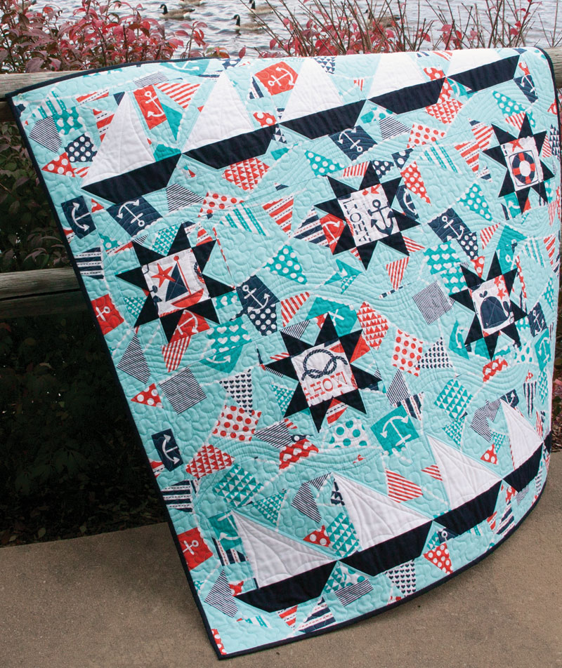 Image of Sail Away quilt pattern